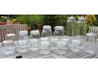 17 Assorted Storage Jars