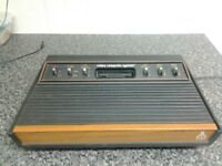 (FREE POST ) vintage atari 2600 woody video games + console , not xbox ,ps4 ,laptop ,pc