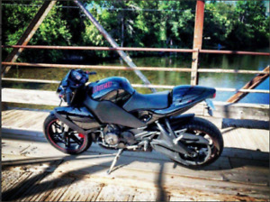 Buell 1125CR Can safety. Possible trade for Sport Cuddy