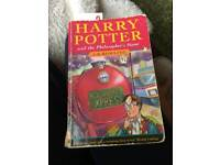 Harry Potter and the philosophers stone 1st/1st edition