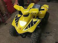 Apache rlx 100cc quad bike