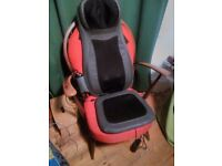 Naipo Shiatsu neck and full back massage seat for sale