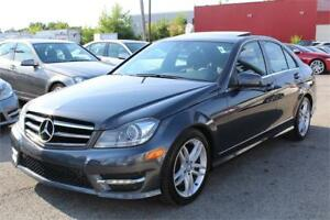 2014 MERCEDES-BENZ C300 4MATIC/AWD, XENON, TOIT, CLEAN CARPROOF