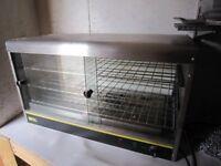 Buffalo Pie Heater Table Top Counter V. Good Condition