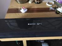 Brand new Apple Watch 42mm Nike+ black and grey series 2