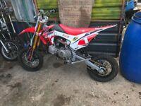 Wpb Welsh pit bike 125cc mint condition
