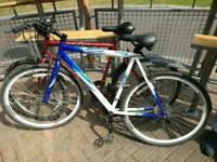 Baracudda hybrid light weight fully functional cycle..