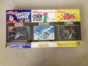 Star Wars Collector Cereal Box Set