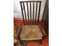 Late 19thC Child's Rocking Chair
