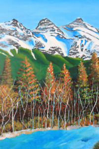 HAND-PAINTED ACRYLIC PAINTINGS - Rocky Mountain Creations