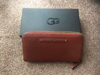 UGG Jenna Zip Around Ladies Wallet - Deep Mahogany