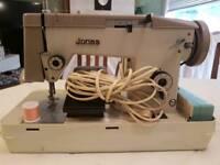 Jones vintage sewing machine