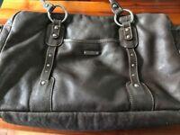 Storksak Leather Changing Bag