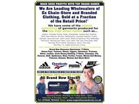 Job Lots Ex Chain-Store Clothing and Branded Sportswear ( Earn Extra Cash )