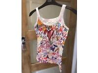 Size 8 vest top - Butterfly