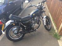 Sukida 125 motorbike