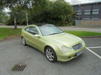 Mercedes-Benz C200 Kompressor 1.8 auto 2003MY C200 Kompressor