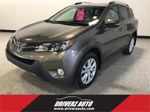 2013 Toyota RAV4 Limited LIMITED TRIM, LEATHER, POWER LIFTGATE