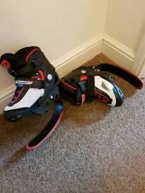 Tramp it jump shoe.