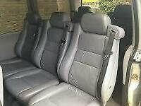 MERCEDES VITO V-CLASS PASSENGER LEATHER SEAT SET OF 5 REAR
