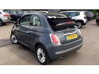 2014 Fiat 500 1.2 Lounge 2dr (Start Stop) Manual Petrol Convertible