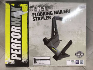 3-In-1 Pneumatic Flooring Nailer/Stapler (Used Tools Store)