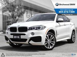 2016 BMW X6 Xdrive35i M Sport, Premium Package Enhanced! Local
