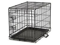 XL black dog cage/crate