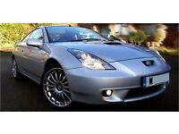 Toyota celica silver for repair