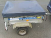 SMALL METAL TRAILER BY TRIGANO 110 X 92 X 37