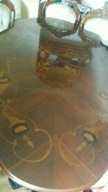 French Polish table