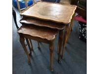 Nest of tables - Perfect first upcycling project