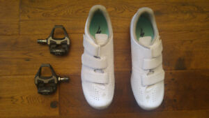 Women's Spirita Road Shoes (with Shimano PD-6800 clip pedals)
