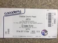 Justice, tickets.