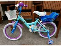 Disney Frozen 12inch Bike & Helmet