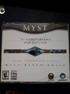 Myst 10th Anniversary (Includes 1, 2 and 3) DVD Edition