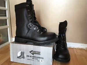 German military boots