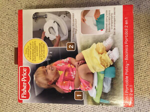 Fisher Price 2-in-1 Portable Potty *New in Box*
