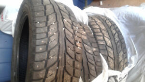 Cooper Weather Master Tires  - Studded