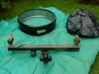 Towbar and spare wheel cover