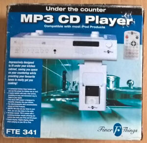 Finer Things Under the Counter MP3/ CD Player