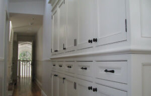 Custom made vintage style cabinets and furniture