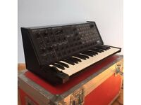 Korg MS 20 Vintage Analog Synthesiser with flight case