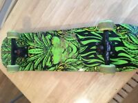 Santa Cruz Weed Godess Custom Built Skate board Complete Set Up
