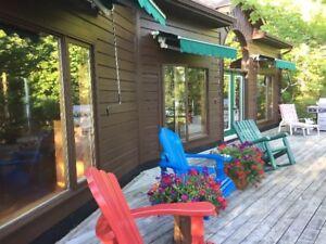 Lac Pemichangan 4 season cottage for sale - $650k