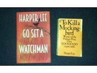 Harper Lee Go Set A Watchman (Hardback) To Kill Mockingbird (paperback)