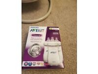 Unopened Brand new - Philips Avent 3 Feeding bottles 260 ml