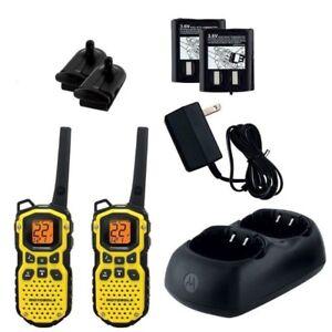 Motorola Waterproof 2 Way Rechargable Radios