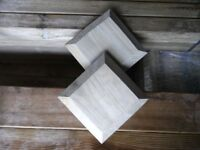 Timber decking newel post capping 110mmx110mm