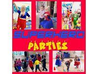 Children's party Entertainers Berkshire. Superhero / Princess Kid's parties and mascot hire